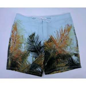 American Eagle Large Board Shorts Palm Tree Beach